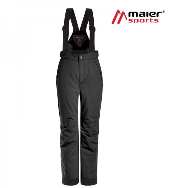 Maier Sports Maxi Reg mitwachsende Skihose Kinder black