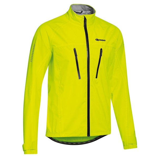Gonso Herren Allwetterjacke Halit safety yellow
