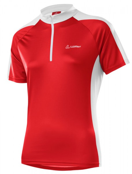 Löffler Damen Bike-Shirt Pura red