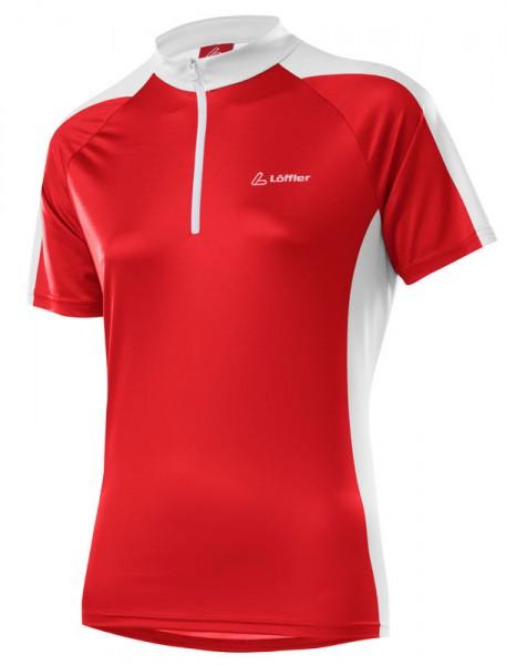 Löffler Damen Bike-Shirt Pura red