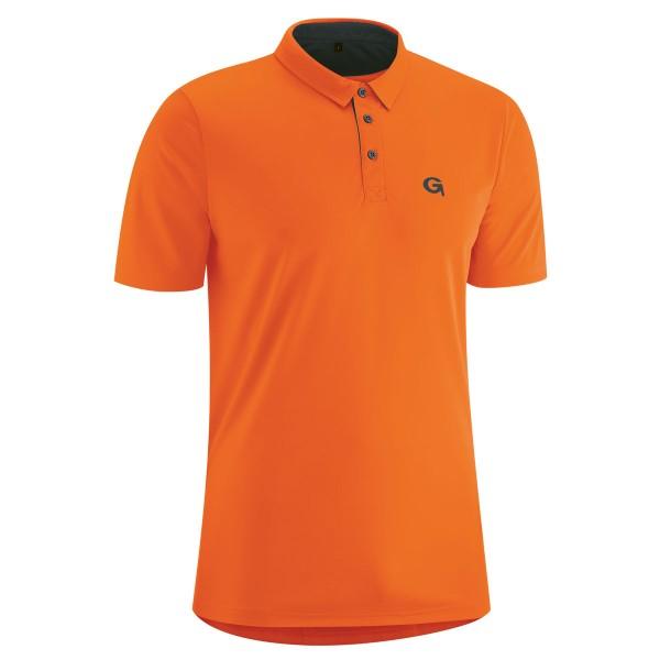 gonso herren bikeshirt willy mandarin red