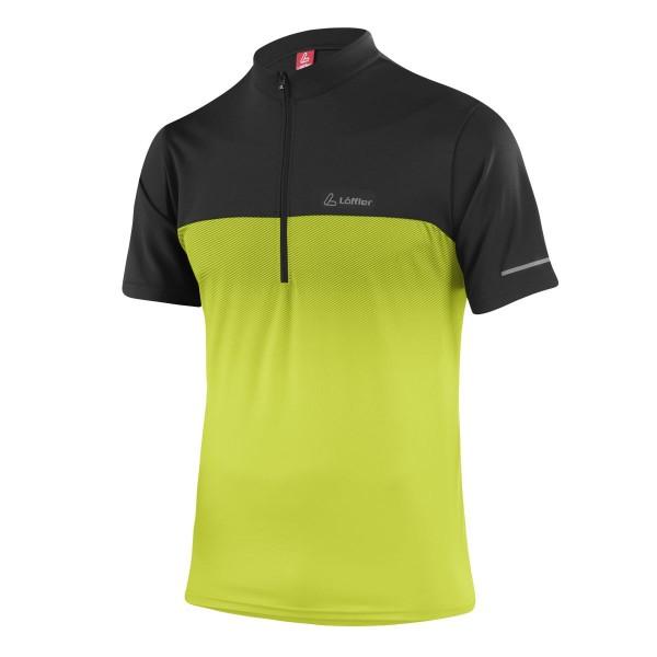 Löffler Herren Bike-Shirt FZ Flow light green