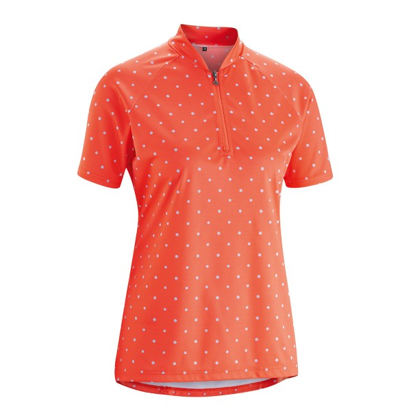 Gonso Damen Bike-Shirt Marina hot coral