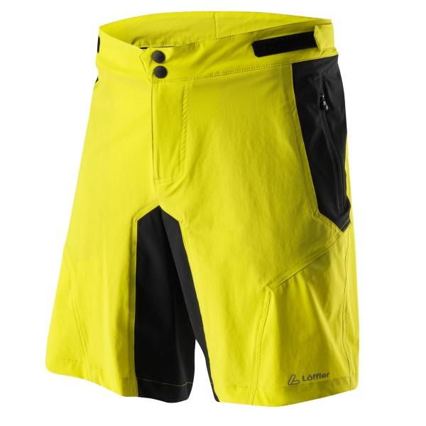 Löffler Herren Bike Shorts Tourano CSL zitrone