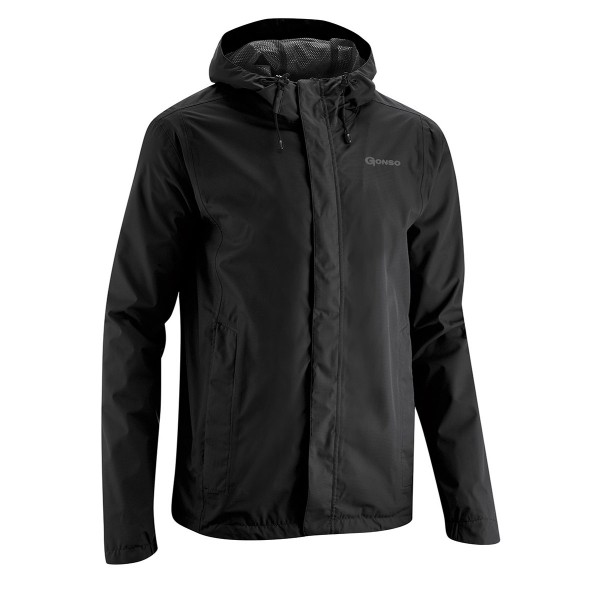 gonso save light black jacke herren