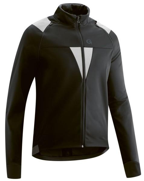 Gonso Asson Herren Zip-Off Softshell Jacke black