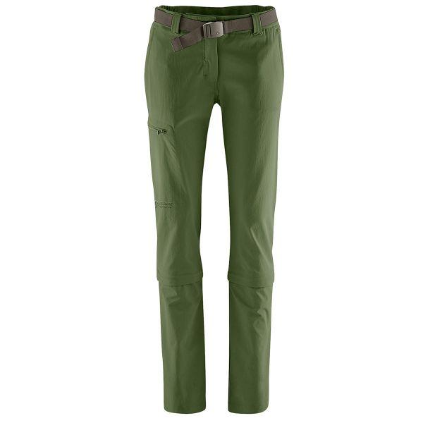 Maier Sports Arolla Zipp-Hose Damen bronze green