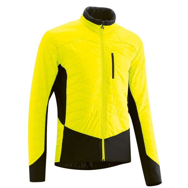 Gonso Herren Thermo-Bike-Jacke Skraper safety yellow