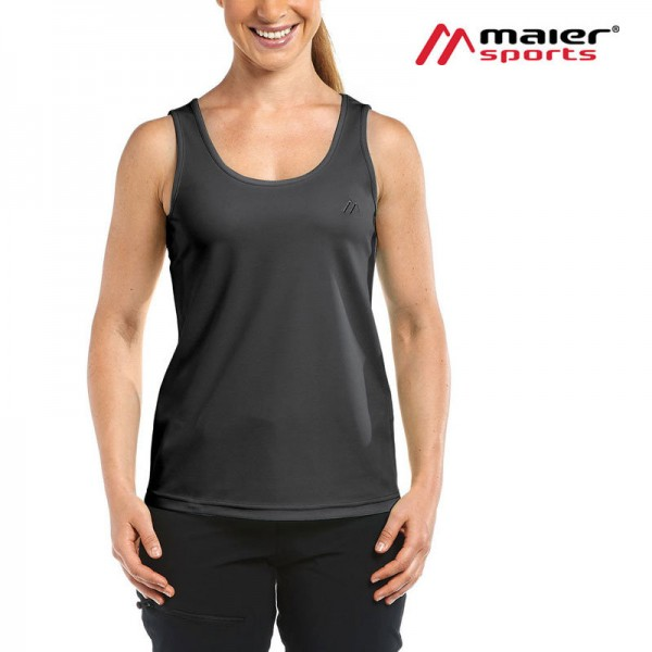 Maier Sports Petra Funktionstop Damen black