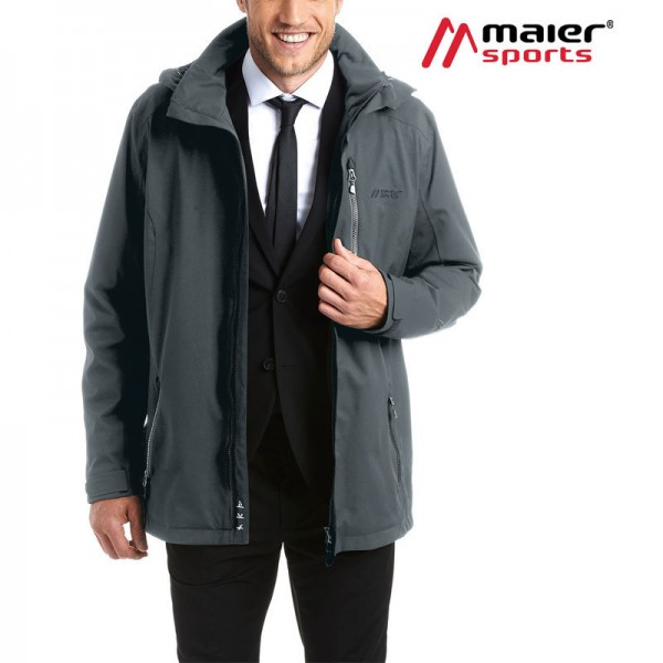 Maier Sports Job Jacket Funktionsjacke Herren graphite