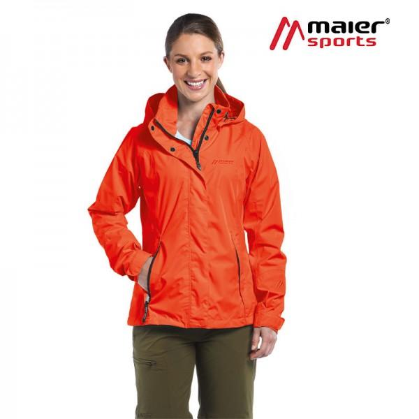 Maier Sports Sylt Funktionsjacke Damen fiery red