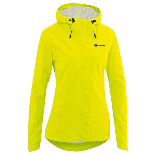 Gonso Damen Allwetterjacke Sura light safety yellow