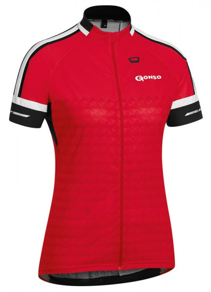 Gonso Damen Radtrikot Sella fire