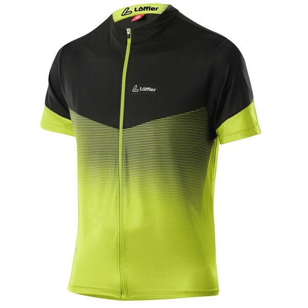 loeffler bikeshirt stream light green