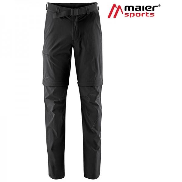 Maier Sports Tajo 2 Zipp Off Hose Herren black