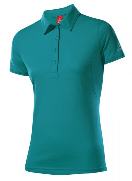 Löffler Damen Poloshirt Transtex® Single CF jade