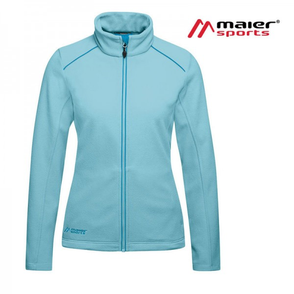Maier Sports Alberni Fleecejacke Damen blue topaz