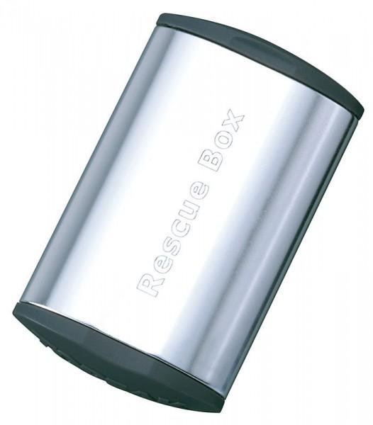 Topeak Rescue Box Flickzeug Set silber
