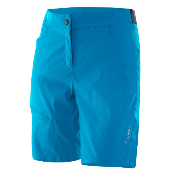 loeffler bike shorts damen comfort csl blue lake
