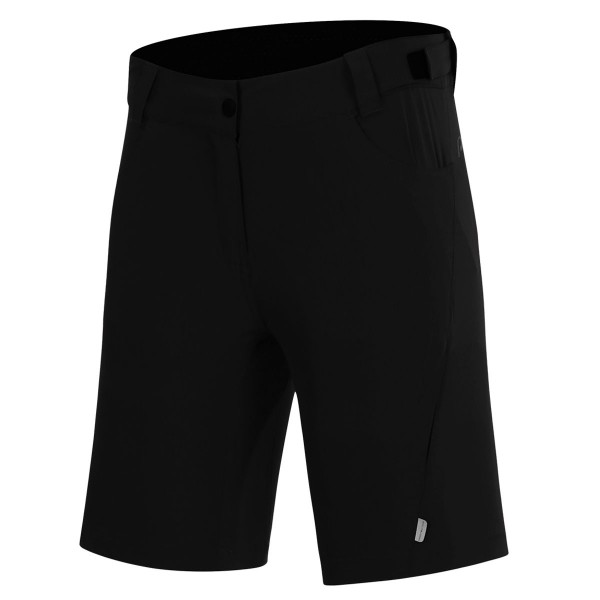 protective damen baggy short p-valley black