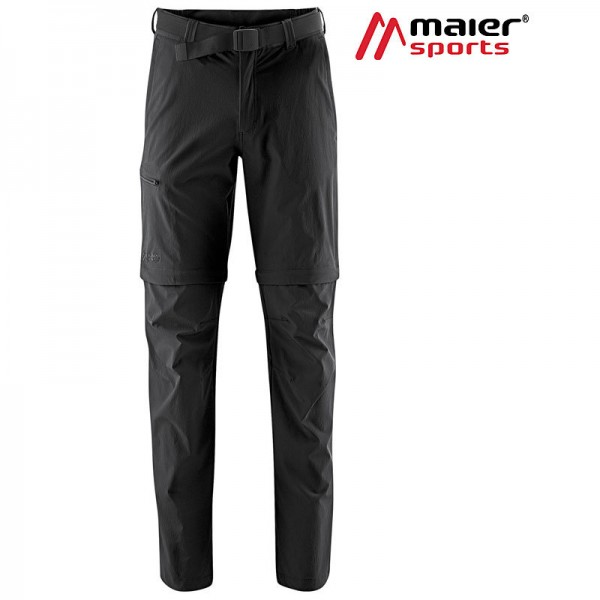 Maier Sports Tajo 2 Zipp Off Hose Herren black