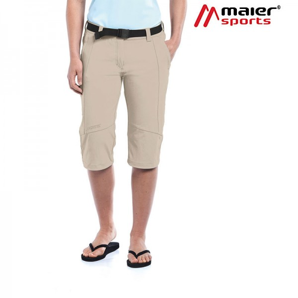 Maier Sports Kluane Caprihose Damen feather gray