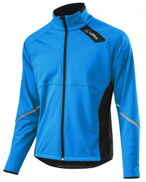 Löffler Herren Bike Jacke Windstopper® Softshell-Warm mauritius
