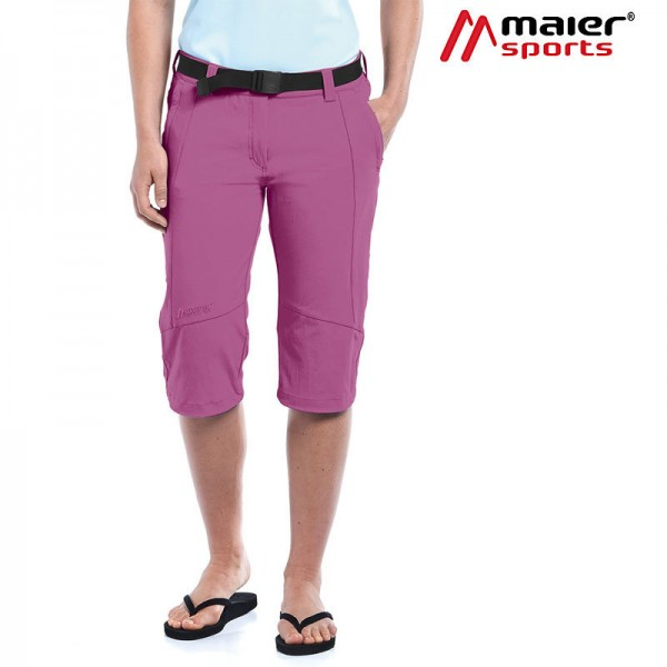 Maier Sports Kluane Caprihose Damen red violet