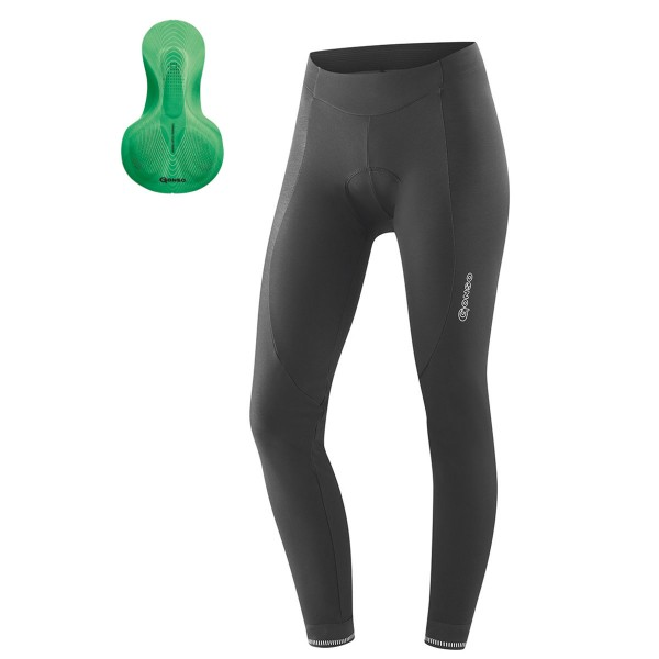 Gonso Sitivo green Damen Thermoradhose mit Polster