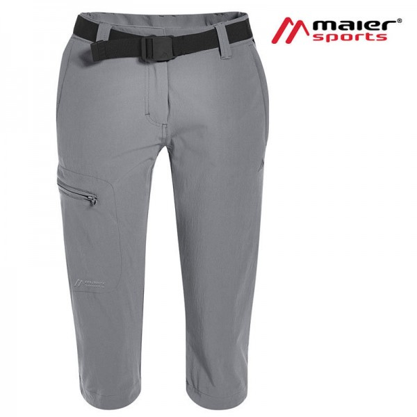 Maier Sports Inara Slim Caprihose 3/4 Damen sleet