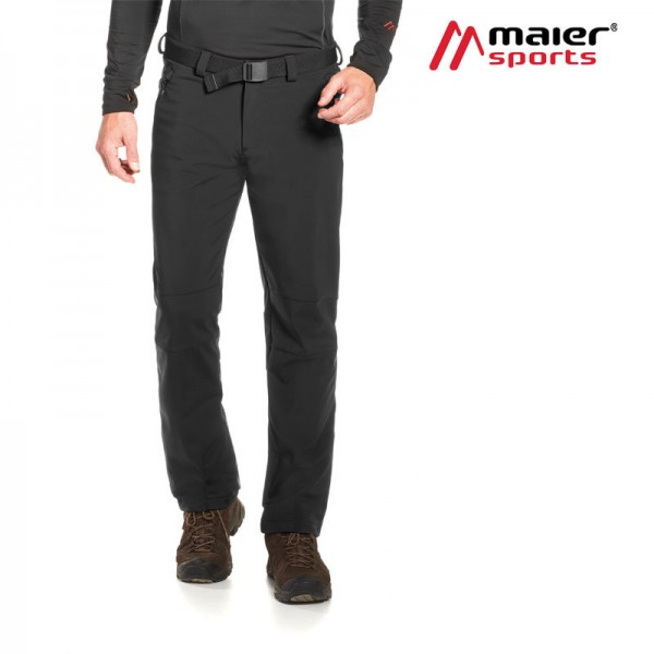 Maier Sports Tech Pants M Softshellhose Herren black