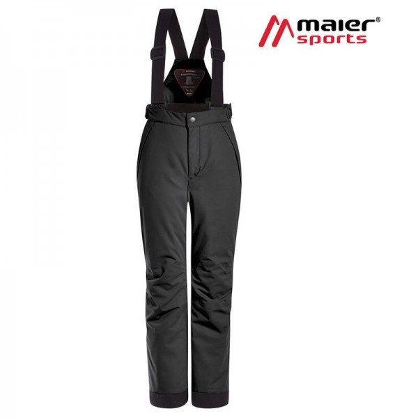 Maier Sports Maxi Big mitwachsende Skihose Kinder black