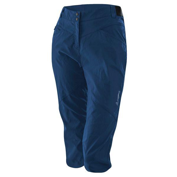 loeffler3-4 radhose damen blau