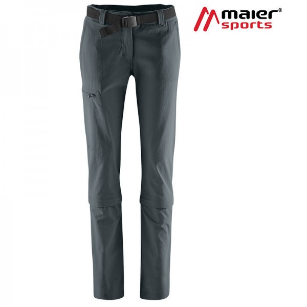 Maier Sports Arolla Zipp-Hose Damen graphite-Copy