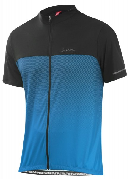 Löffler Herren Bike-Shirt FZ Flow brillant blue/black