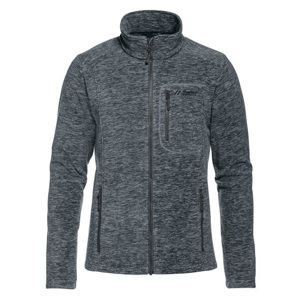 Maier Sports Sandur M Fleecejacke anthracite mel