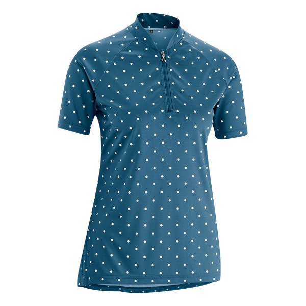 Gonso Damen Bike-Shirt Marina majolica blue