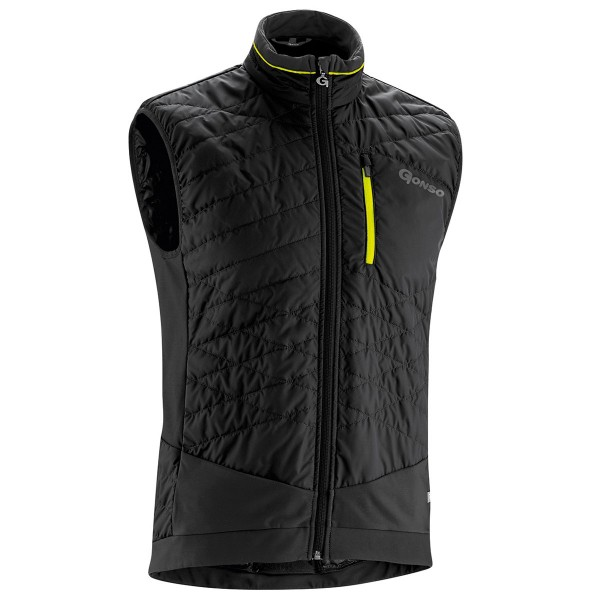 Gonso Herren Thermoweste Glandon black