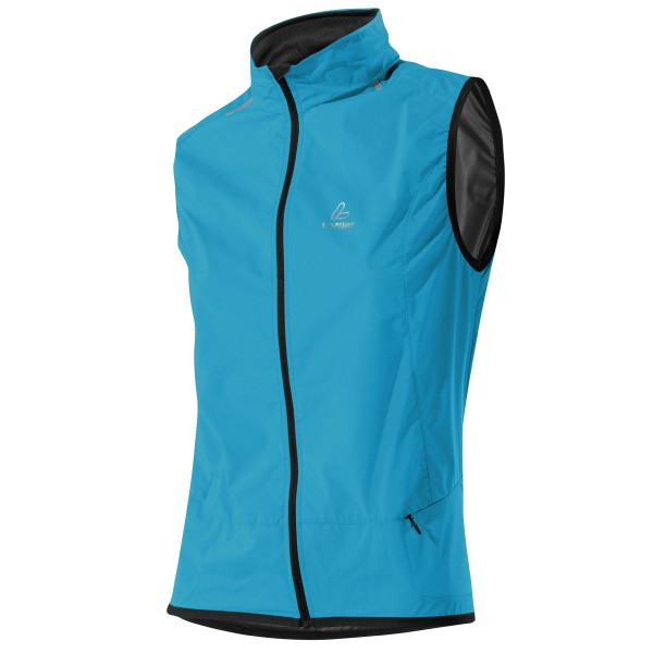 Löffler Damen Windweste Windstopper® Active topaz blue