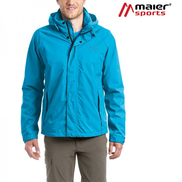 Maier Sports Borkum Outdoorjacke Herren blue jewel