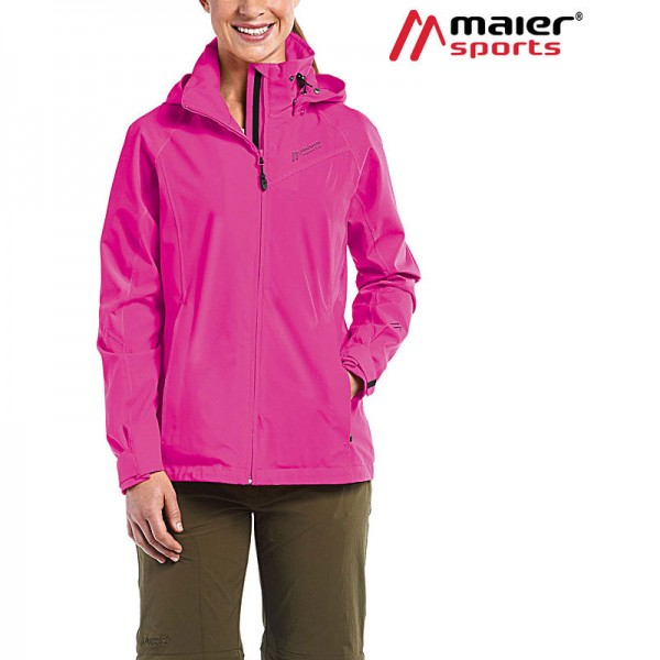 Maier Sports Agneta Funktionsjacke Damen fuchsia purple