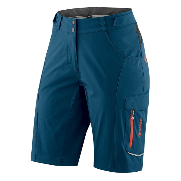 Gonso Damen Bike-Short Garni majolica blue